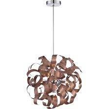 Copper Ribbon Light Best Copper Kitchen Pendants Reviews Ratings Prices