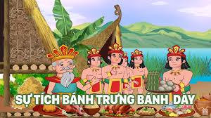 Sự Tích Bánh Trưng Bánh Dày | Truyện Cổ Tích Việt Nam