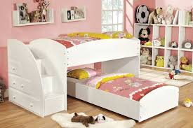 white bunk bed with stairs. Toddler Bunk Beds Ana White · Bed Stairs White Bunk Bed With Stairs 4