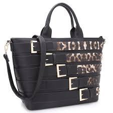 dreubea women s leather handbag tote shoulder bag cross purse