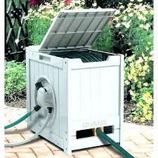 garden hose box hose reel storage garden hose storage pot medium size of together with reel