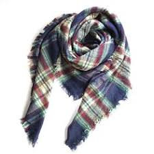 Lncropo <b>Women's Plaid Scarf Winter</b> Oversized <b>Scarves</b> Tartan ...