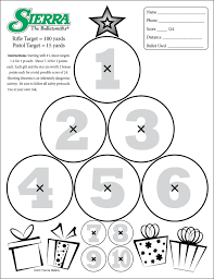 treetarg1501op target daily bulletin on printable targets for zeroing