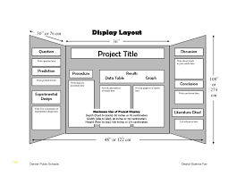 Science Fair Projects Layout Science Fair Template Unique Project Science Fair Project Template