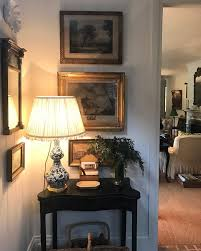 Corner vignette in english country home of cameron kimber