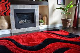 area rugs red best of com fashion style soft area rugs red black