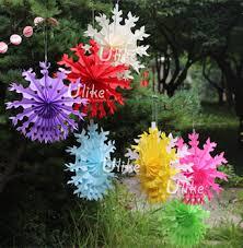 Paper Flower Pots Paper Mache Flower Pots Planters Decoration Fan Tissue Fan Flowers Hanging Magic Tissue Paper Flowers Buy Paper Mache Flower Pots Planters Malaysia