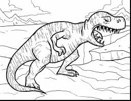 Small Picture Unbelievable rex coloring pages with t rex coloring page