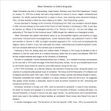 Biography Outline Template 10 Free Word Excel Pdf Format