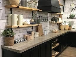 Cuisine Noir Mat Et Bois élégance Et Sobriété Kitchen Idea