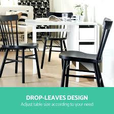 gateleg dining table gate leg extendable change folding storage drawers  tables and chairs