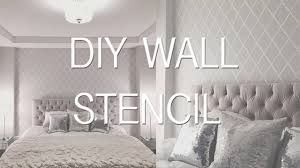printable stencils wall for bedrooms stencil stickers walls all about spray paint ideas pattern painting