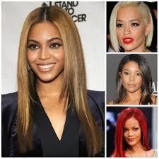Schwarze Frauen Mit Glattem Frisuren 2016 Haarfarben F R Kurze