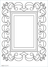 printable frame templates free templates for kids igotz org