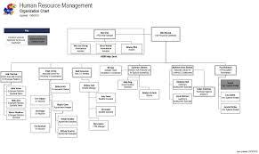 Human Resource Organizational Structure Chart Organization Chart Human Resource Management