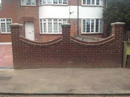Small Picture Front Garden Wall Designs Bromley Terrain Design Front Garden Wall