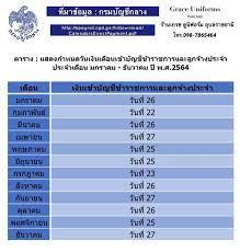 เงินเดือนข้าราชการ #เงินเดือนข้าราชการ2564 #วันเงินเดือนข้าราชการออก2564 # เงินเดือนข้าราชการครู2564 #เงินเดือนข้าราชการท้องถิ่น2564 #กำหนดการจ่าย เงินเดือนข้าราชการลูกจ้างประจำปี_พ_ศ_2564 เว็บไซต์ กรมบัญชีกลาง ได้เผยแพร่  ปฏิทินการปฏิบัติงานโครงการจ่าย ...