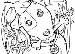 Free coloring pages to print or color online. Dog Coloring Pages Printables Education Com
