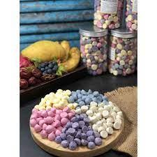 SALE221 } Bánh sữa chua khô vị hoa quả, đồ ăn dặm handmade cho bé , HSD 6  tháng, shop Mẹ Min ( Hàng NEW ) chính hãng 380,000đ
