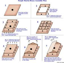 martin house plans. Purple Martin Bird House Plans S