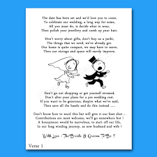 Wedding Invitation Quotes And Poems | Wedding Things