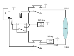 dual electric fan relay wiring diagram images fan wiring diagram lite fan controller wiring diagram alsoon ac dual