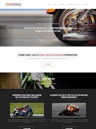 bike racing website template motorcycle website templates