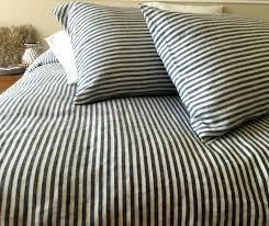 full image for grey ticking stripe duvet cover uk navy and white striped duvet cover light