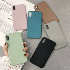 Simple candy TPU Phone Case For iPhone 6S 8 7 6 Plus ... - Vova