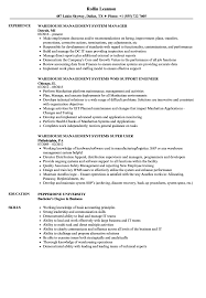 Warehouse Associate Resume Sample Warehouse Management Resume Samples Velvet Jobs 81