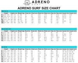 29 Ageless Waterproof Wetsuit Size Chart
