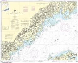 Noaa Nautical Chart 12367 North Shore Of Long Island Sound Greenwich Point To New Rochelle