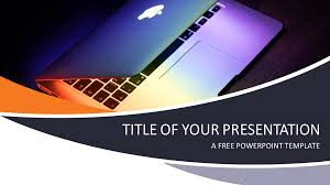 Technology And Computers Powerpoint Template Presentationgo Com