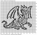 Схемы вышивка крестом монохромные схемы