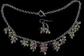 Бусы колье - рубин в <b>цоизите</b> Виноградная гроздь, 960 грн ...
