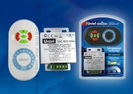 <b>Контроллер UNIEL ULC-R22-DIM White</b> для одноцв.свет