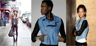 why not make a denim vest out of an old denim jacket that i could then throw over my leather jacket all i can say is