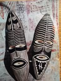 wooden <b>tribal</b> masks from Zimbabwe ...