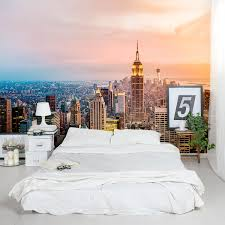 New York Bedroom Wallpaper City Wallpaper For Bedroom City Wallpaper Bedroom Oural Large