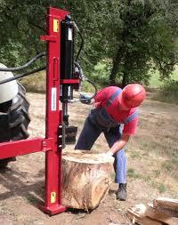 20 ton horizontal vertical tractor 3pt log splitter