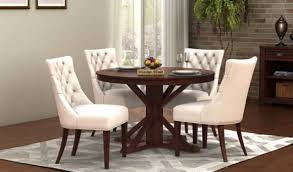 Dining Table Sets Buy Wooden Dining Table Set Online Low Price Interesting Where Can I Buy Dining Room Chairs