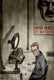 haunting ilrations for orwell s nine eighty four introduced by the courageous journalist who broke the edward snowden story brain pickings