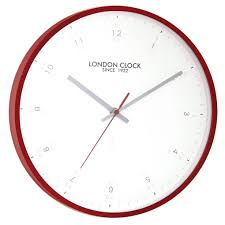 decorating terrific contemporary wall clocks with red round frame renovation modern architecture extraordinary lights interior fl