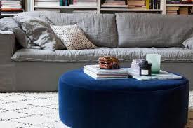 using ottoman as coffee table blog designs