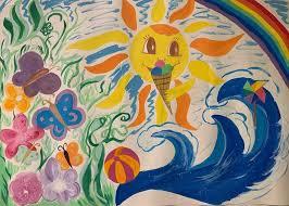 Конкурс рисунков «Краски лета» 15.07.2019 – Детский сад №29