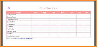 Household Chore List Template House Cleaning For Couples