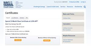 Navy Federal Credit Union S Amazing Cd Deal Bankrate Com