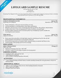 Lifeguard Resume 50 Best Carol Sand Job Resume Samples Images On