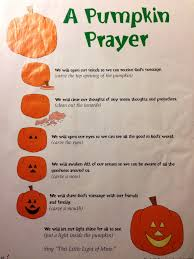 Christian Pumpkin Designs A Pumpkin Prayer Found This Sheet I Took Out Of An Old Pack