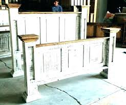 E Distressed Wood Bedroom Set Furniture  Sets